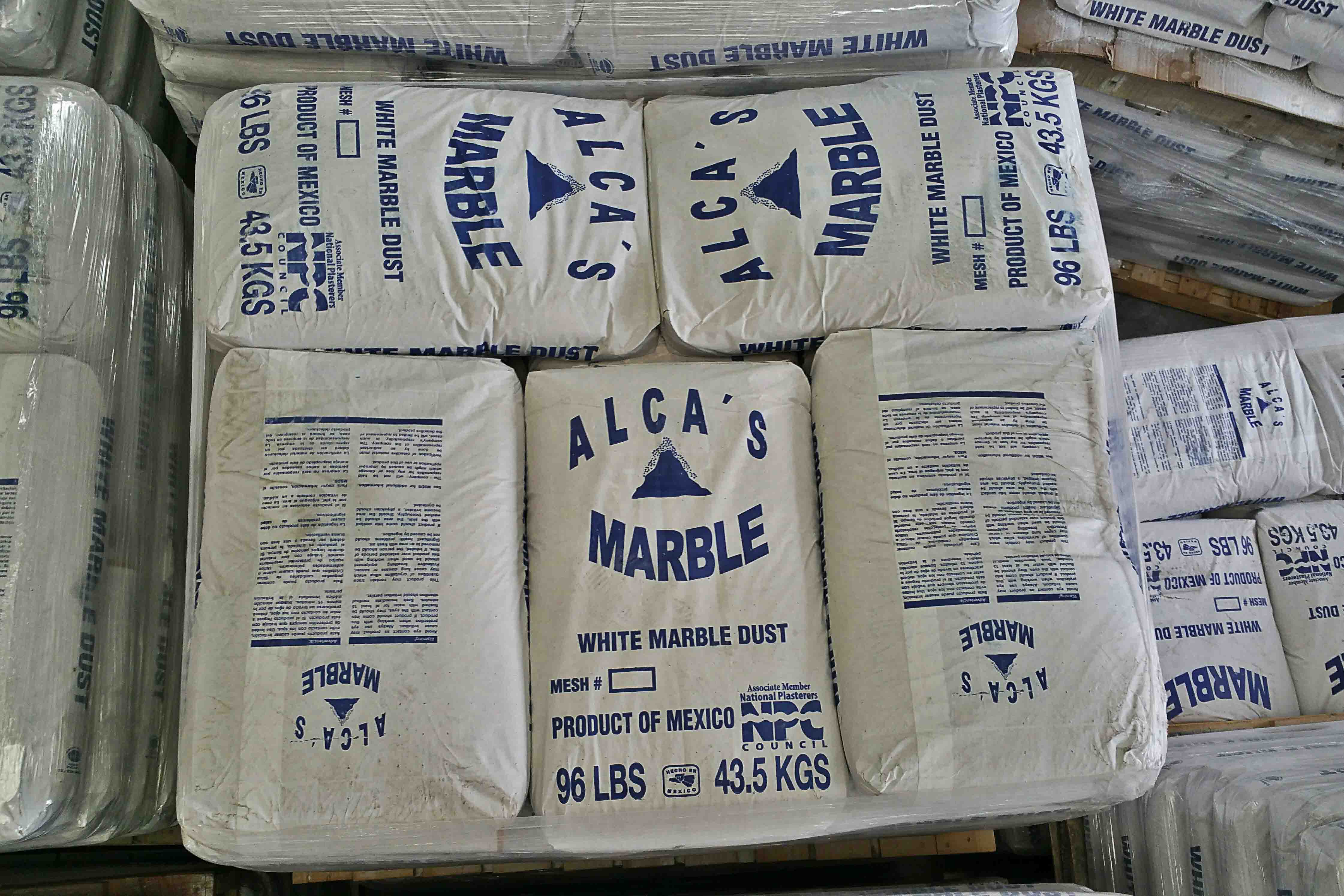 Alcas Marble Marble Dust White